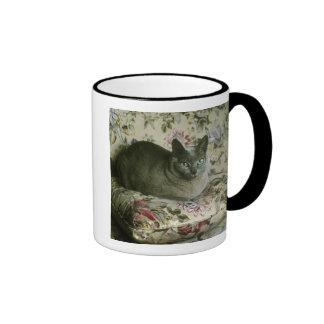 Cat, Minnie, Tonkinese. Ringer Mug