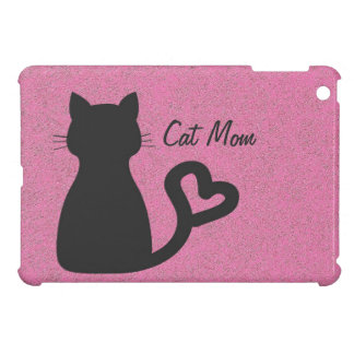 Cat Mom iPad Mini Glossy Finish Case iPad Mini Covers