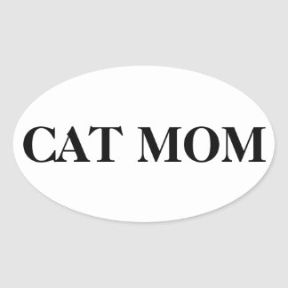 Cat mom stickers