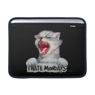 "CAT MONDAY CUTE CARTOON Macbook Air - 13 "" MacBook Sleeve"