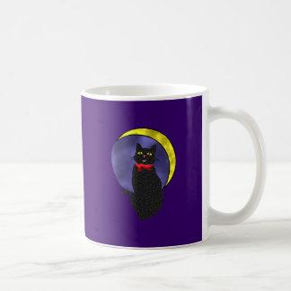 Cat moon cat moon coffee mugs