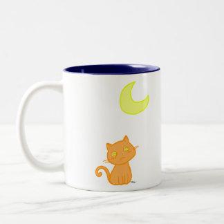 Cat Moon Mug