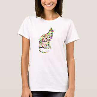 Cat Mosaic T-Shirt