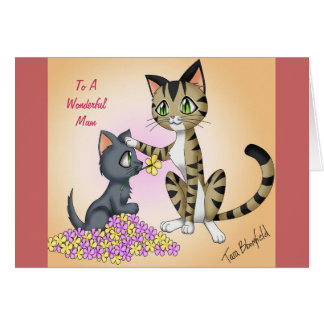Cat Mother s Day Card