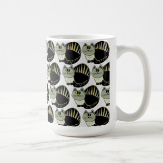 Cat Motif Coffee Mug