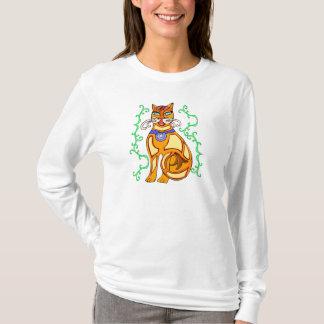 cat motif T-Shirt