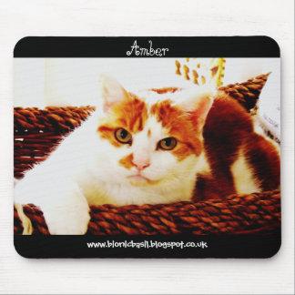 Cat Mouse Pad ~ Basketcase