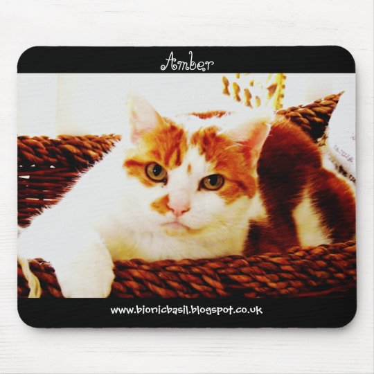 Cat Mouse Pad ~ Basketcase