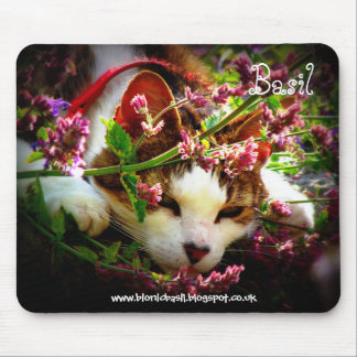 Cat Mouse Pad - Catmint Heaven