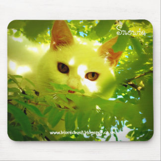 Cat Mouse Pad - Tree Top Tails