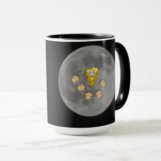 Cat Mug, Mice on Moon Mug