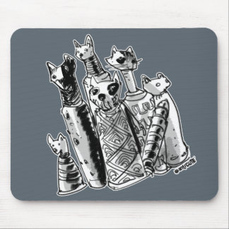 cat mummies on your mousepad