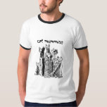 cat mummies with text t shirts
