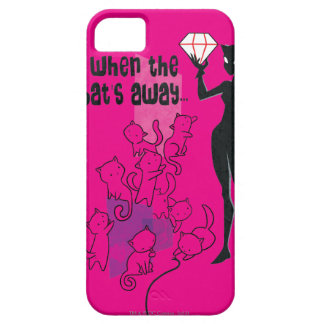 Cat Must Play iPhone 5 Covers