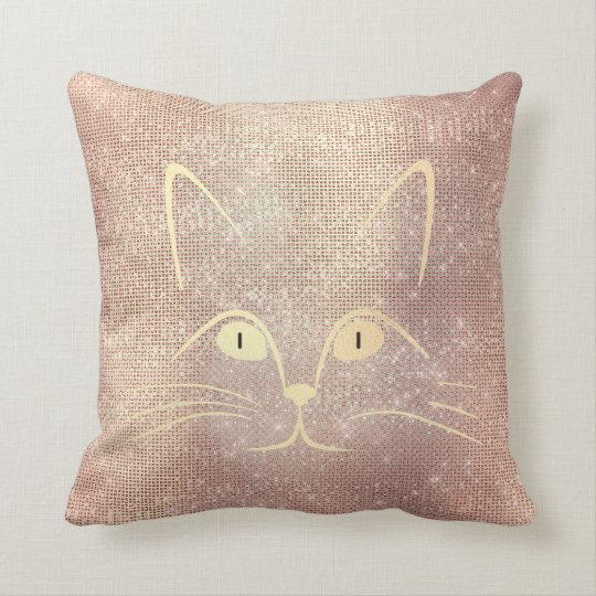 Cat Mustache Nose Eyes Foxier Gold Pink Rose