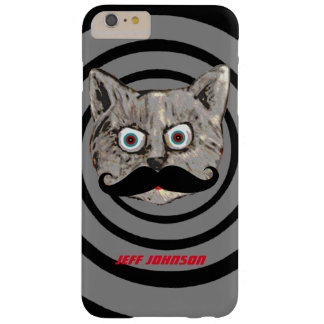 cat mustache personalized barely there iPhone 6 plus case