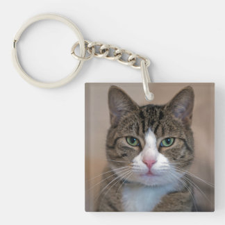 Cat named Mouse! Key Ring