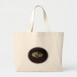 Cat nap canvas bag