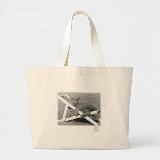 cat nap canvas bags