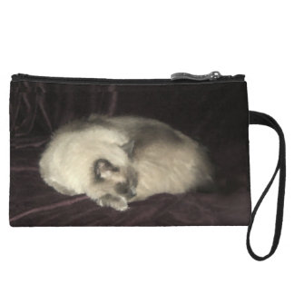 Cat Nap Bagettes Bag Wristlet Clutches