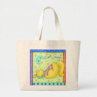 Cat Nap Tote Bag