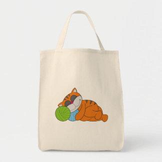 Cat Napping Tshirts and Gifts Canvas Bag