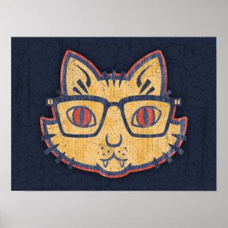 Cat Nerd Posters