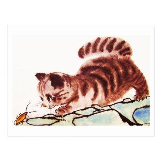 Cat Nr.32 * cat postcards * Cat kind Postcard