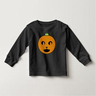 Cat-o-Lantern Long-Sleeve Toddler Shirt