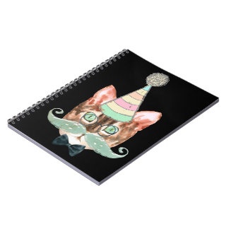 Cat obsession notebooks