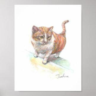 Cat of next door poster