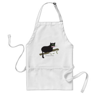 Cat on a Branch Standard Apron