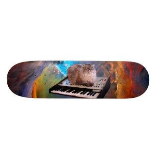 Cat on a Keyboard in Space 20.6 Cm Skateboard Deck