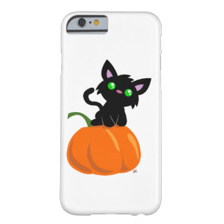 Cat on a Pumpkin Smart Phone Case