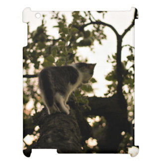 Cat on a tree cover for the iPad