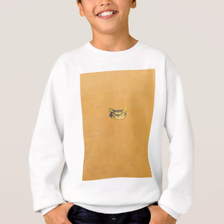 cat on a wall sweatshirt