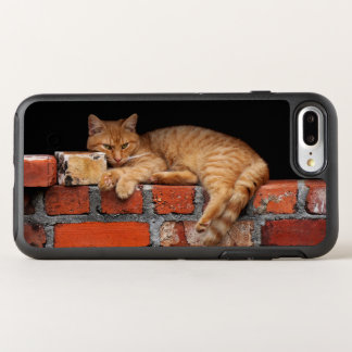 Cat on Brick Wall OtterBox Symmetry iPhone 8 Plus/7 Plus Case