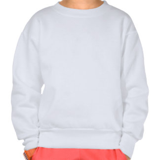 Cat On Its Back Cute White Belly Drawing Design Sweatshirt