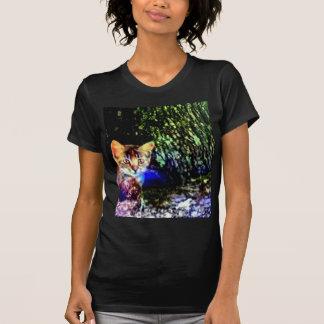 Cat on Oak Roots Tshirt