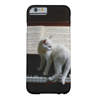 Cat on piano barely there iPhone 6 case