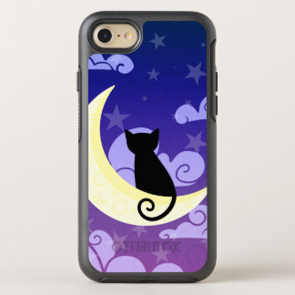 Cat on the moon OtterBox symmetry iPhone 8/7 case