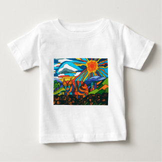 cat on the wall baby T-Shirt