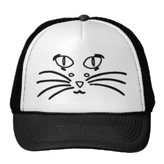 Cat or Mouse Optical Illusion Trucker Hats