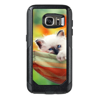 Cat OtterBox Samsung Galaxy S7 Case