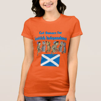 Cat Owners for Scottish Independence T-Shirt