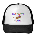 Cat Party USA Mesh Hats