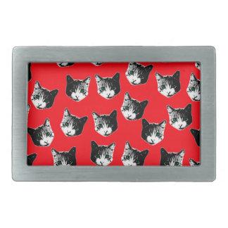 Cat pattern belt buckle