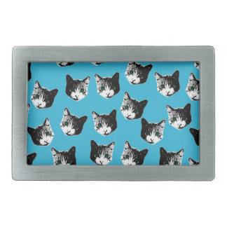 Cat pattern belt buckles