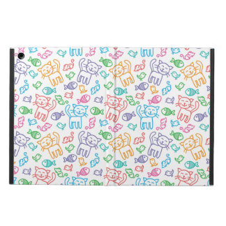 cat pattern cover for iPad air
