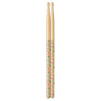 cat pattern drumsticks